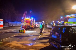 Verkehrsunfall mit Rettungswagen Bad Homburg 16.12.2016