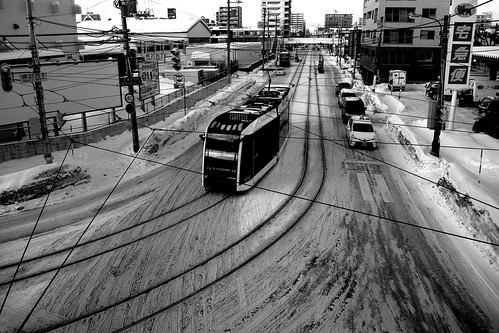 Tramcars at Sapporo on DEC 29, 2016 (69)