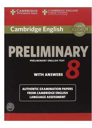 Cabridge Priliminary English Test 8 ( PET 8) Audio mp3