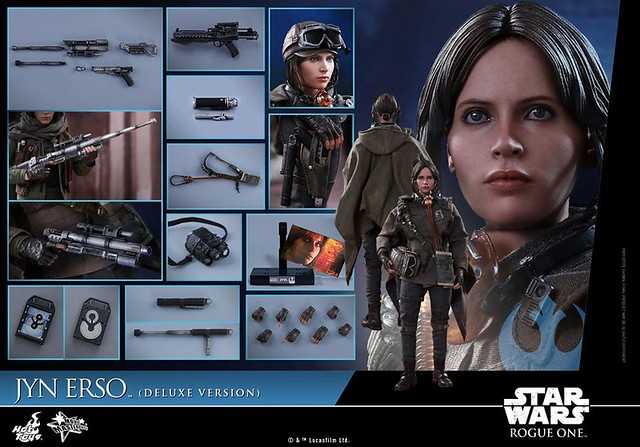 Rogue One 1/6 Jyn Erso by Hot Toys (Deluxe Version)