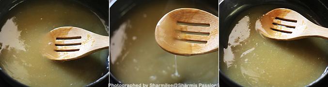 How to make Whole Wheat Milk Porridge for Babies - Step4