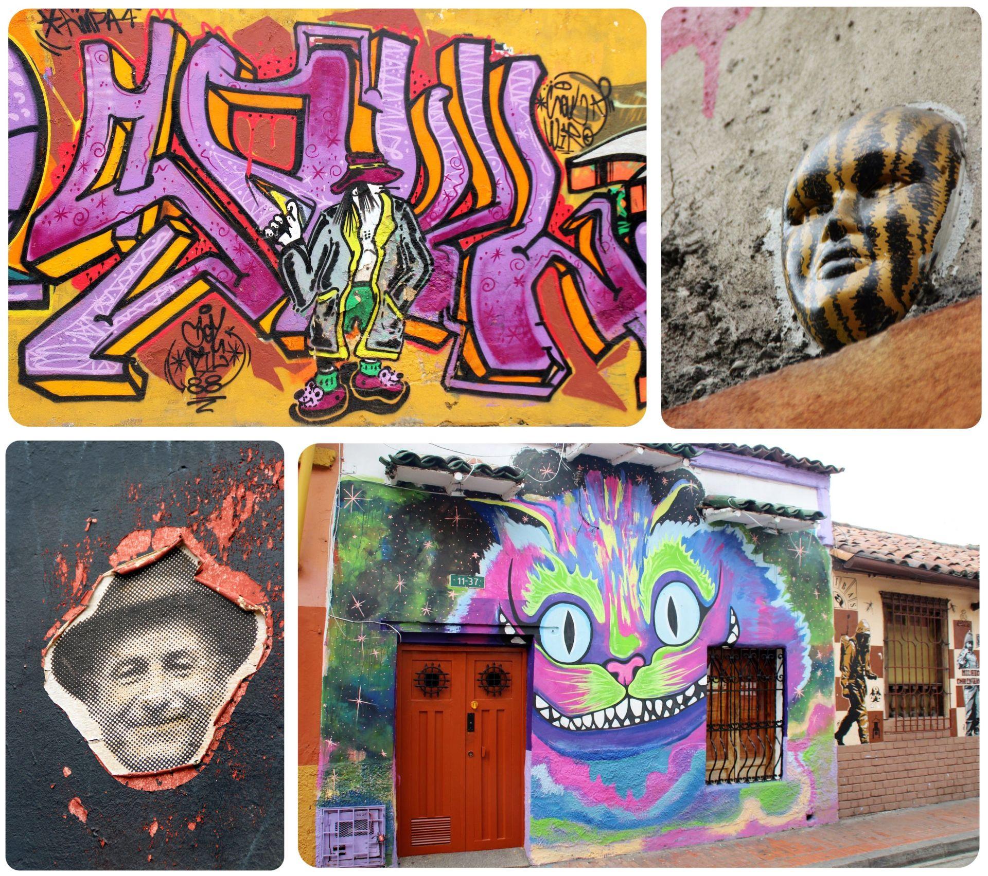 Street Art La Candelaria