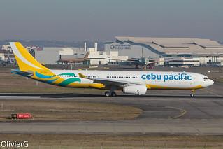 A330-343 Cebu Pacific MSN1712 RP-C3347 - TLS