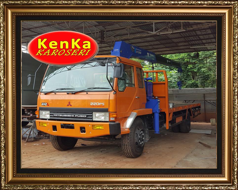 Karoseri Truck Crane - 8e7