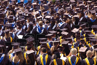Sea of Mortarboards | by Josh Thompson