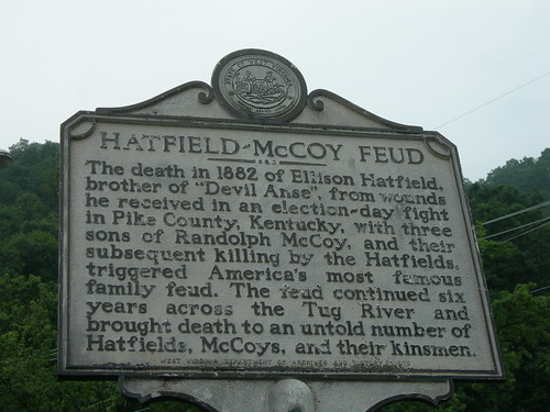 Hatfield-McCoy Feud Historic Sign | by jimmywayne