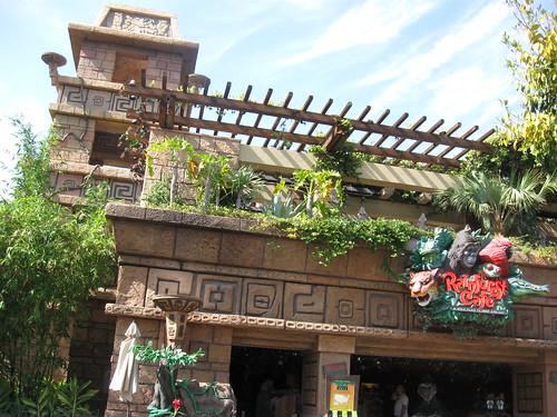 Disney Rainforest Cafe Dessets