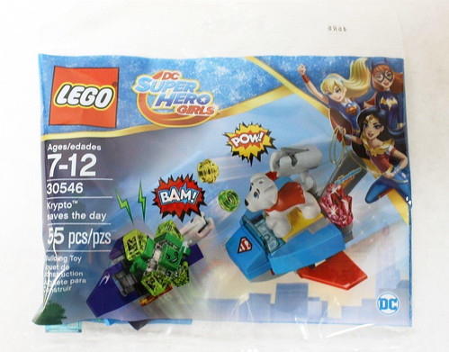 LEGO DC Super Hero Girls Krypto Saves the Day (30546)