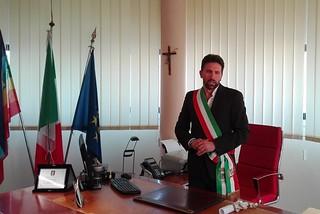 Noicattaro. Il sindaco Raimondo Innamorato front