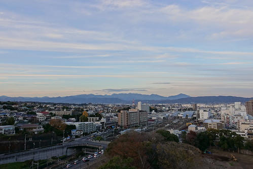 Odawara sky from Odawara castle tower 05