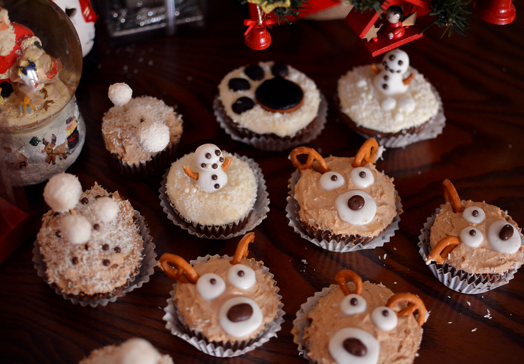 christmas cupcakes6