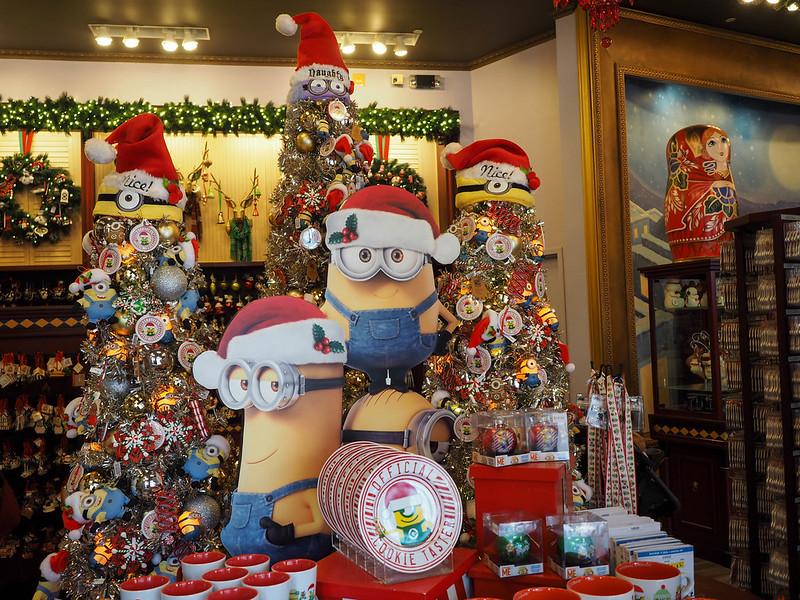 Universal Studios Orlando at the holidays