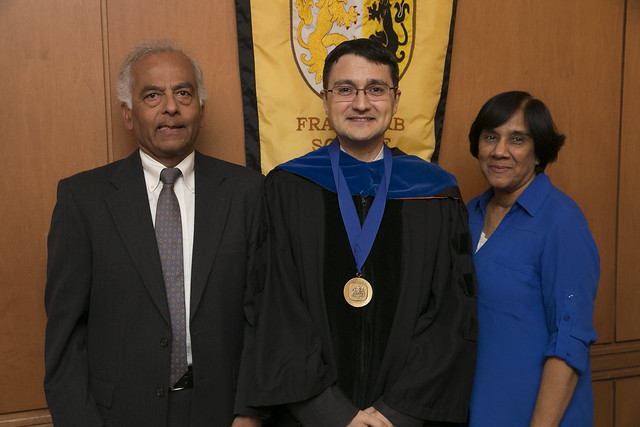 Dr. Ahmet K. Karagozoglu, PhD Installed as The C.V. Starr Distinguished Professor in Finance and Investment Banking