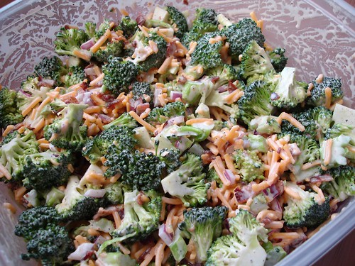 Bodacious Broccoli Salad | by girlychimp
