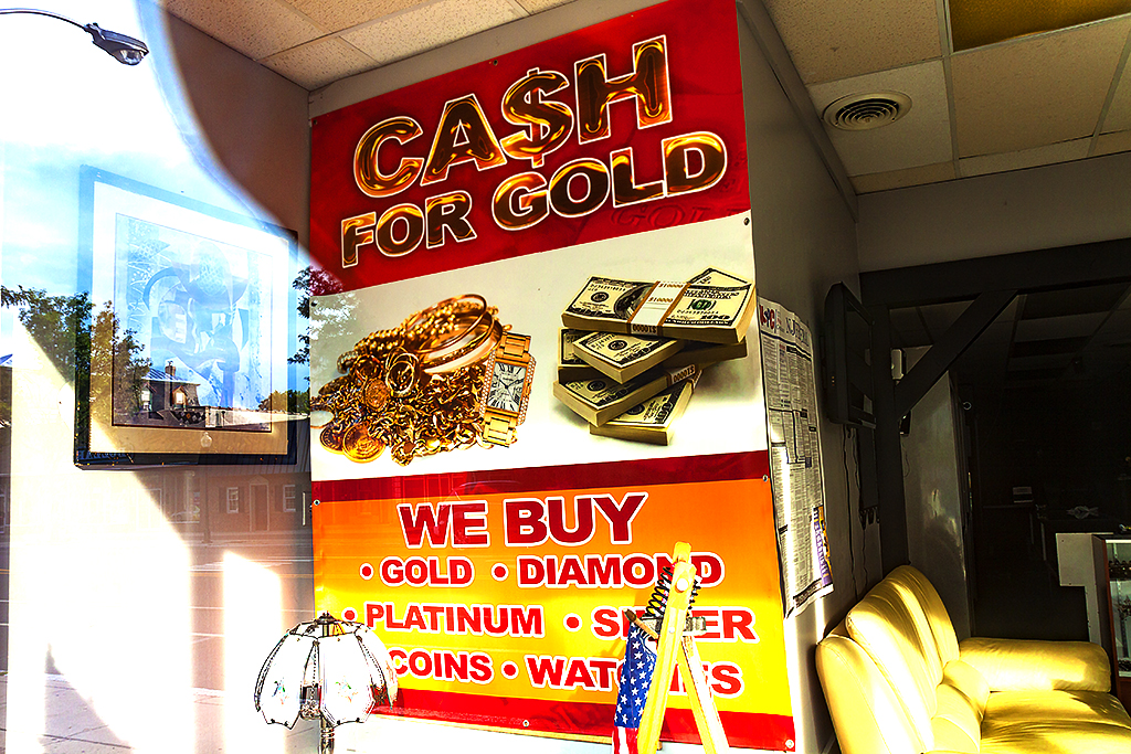 CASH FOR GOLD--Woodbury