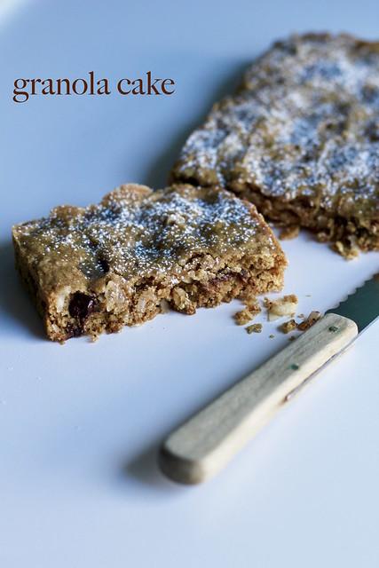 granola cake