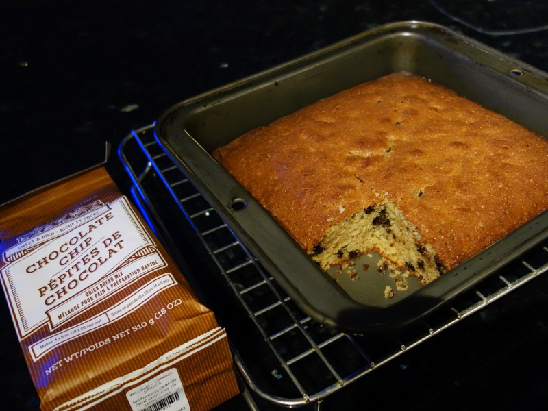 Williams Sonoma quick bread chocolate chip
