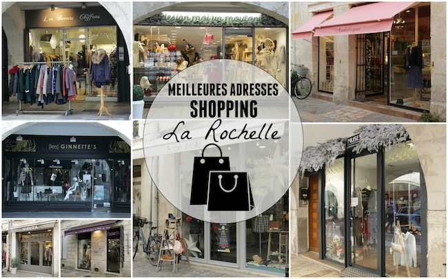 les meilleures adresses pour faire du shopping la rochelle jeni ch rie la rochelle. Black Bedroom Furniture Sets. Home Design Ideas