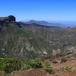 Mirador Degollada de Becerra Tejeda Gran Canaria.