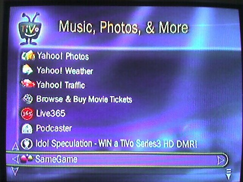 Yahoo! Invaded my TiVo | by libraryman