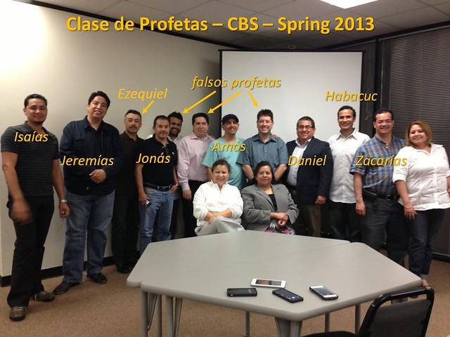 Profetas del A.T. Primavera 2013