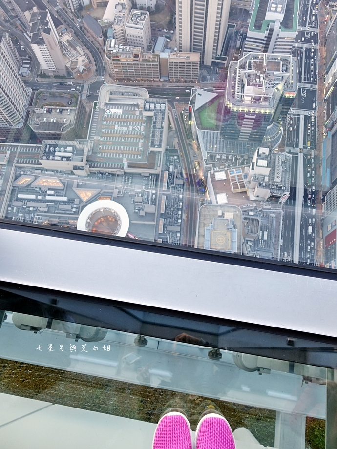 25 日本大阪 阿倍野展望台 HARUKAS 300 日本第一高摩天大樓 360度無死角視野 日夜皆美