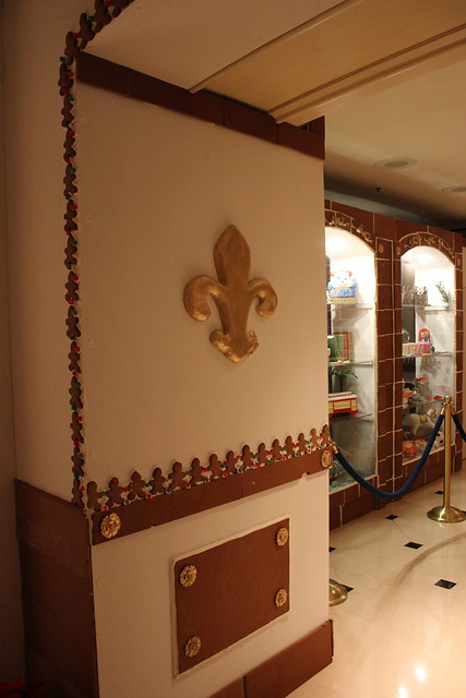 Gingerbread at Ritz-Carlton, New Orleans