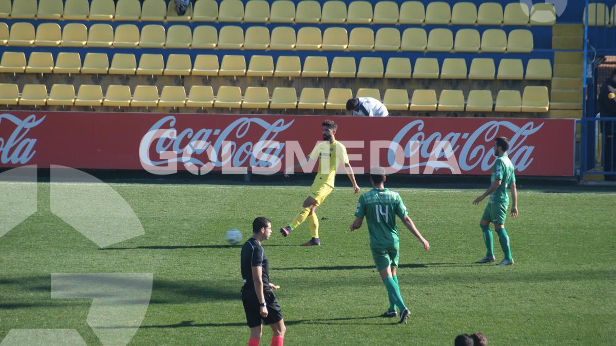 Villarreal CF B 4-2 UE Cornellà (08/01/2017), Jorge Sastriques