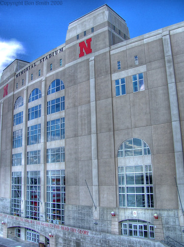 Huskers Memorial Stadium Another Hdr Attempt This Is