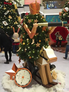 CIRCLEG 香港 尖沙咀 美麗華商場 TSIMSHATSUI  MIRA MALL 2016聖誕 遊記 聖誕 2016  (6)