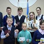 Награждение значками ГТО 16.12.2016