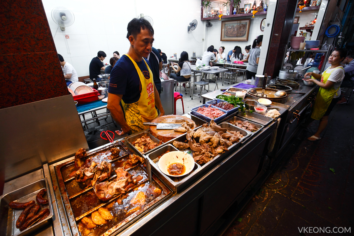 Bangkok Chinatown Yaowarat Koay Chap Shop
