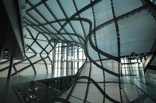Nuvola: gli interni del centro congressi