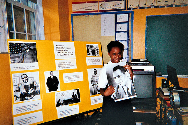 Students Write to Ask That Paul Robeson Be Added to Music Textbook