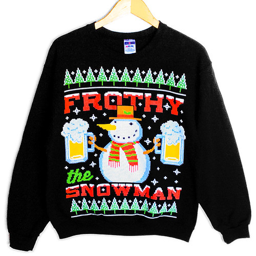 "case you missed it, today was ""National Ugly Christmas Sweater Day ..."