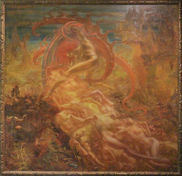 Satan's treasures, Jean Delville