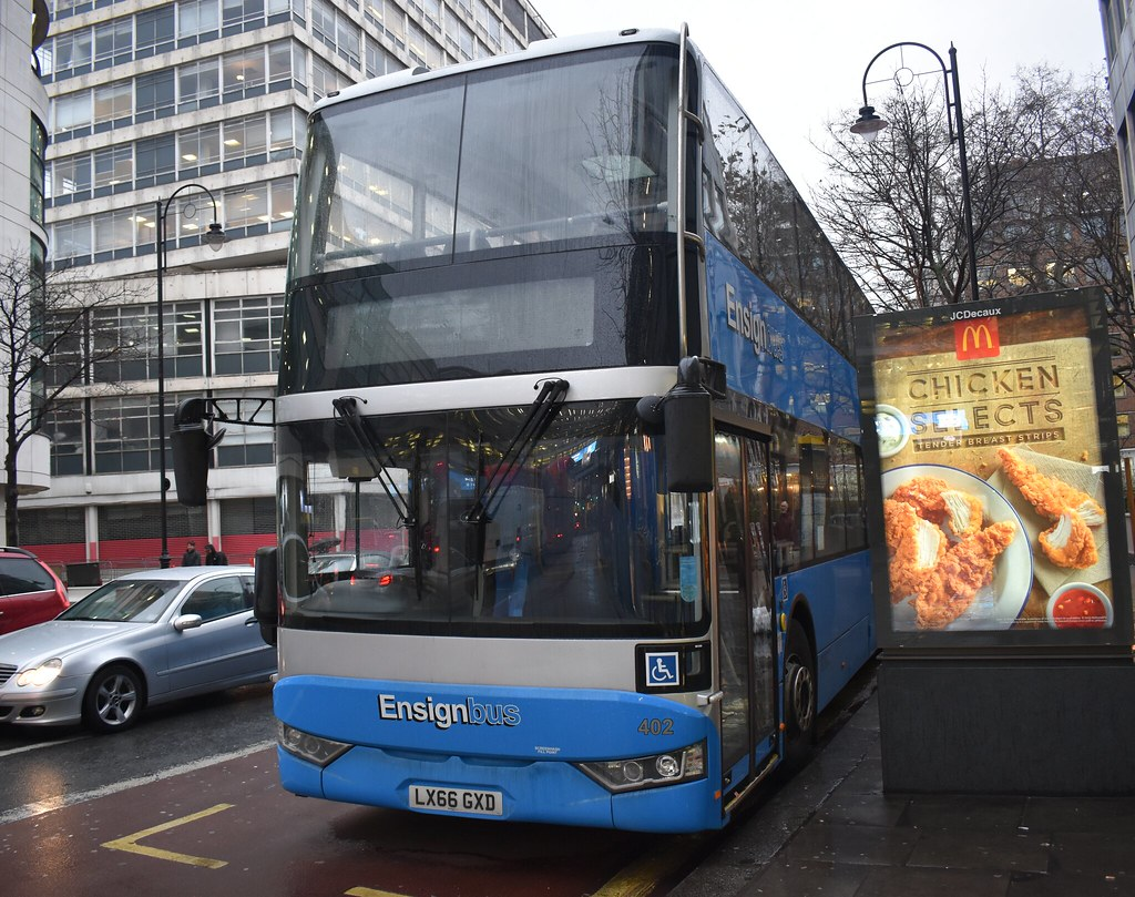 *EXTRA* Ensign Bus: 402 | LX66GXD || A tube strike extra bus for route 25.