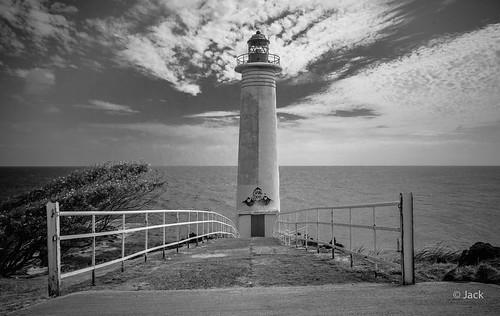 le phare de la Pointe du Vieux-Fort