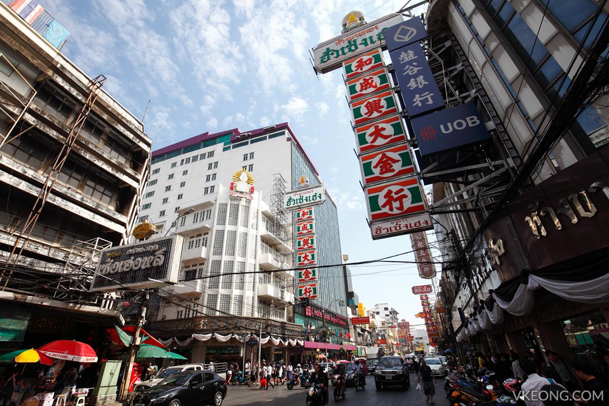 Bangkok Chinatown Yaowarat Day