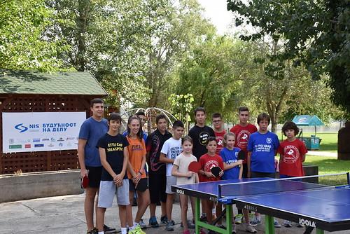 Besplatan stoni tenis na Štrandu (leto 2015, 2016)