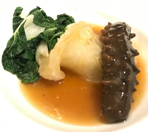 Braised Sea Cucumber & Fish Maw in Superior Brown Sauce - Man Fu Yuan CNY 2017 Media Preview