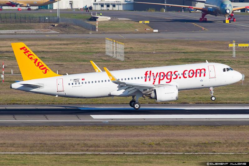 Pegasus Airbus A320-251N(WL) cn 7429 F-WWDY // TC-NBI