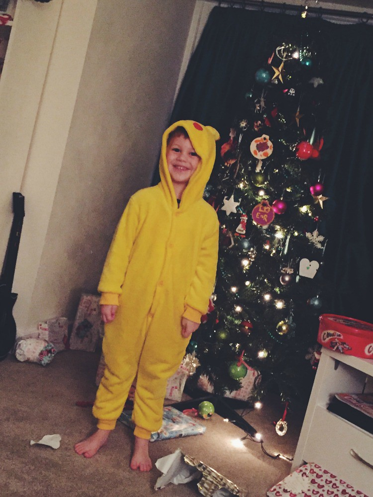 Christmas Day 2016 pikachu