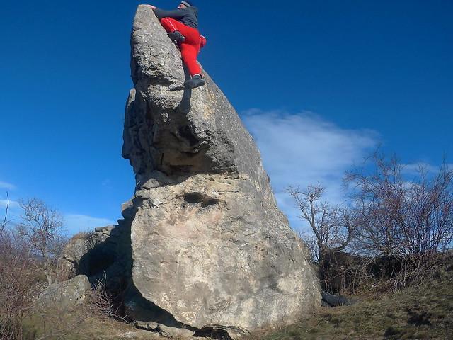 Hölzlstein boulder