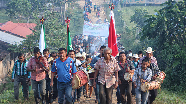 En Chiapas exigen que Gendarmería Ambiental se mantenga fuera de su territorio. Foto: Noe Pineda