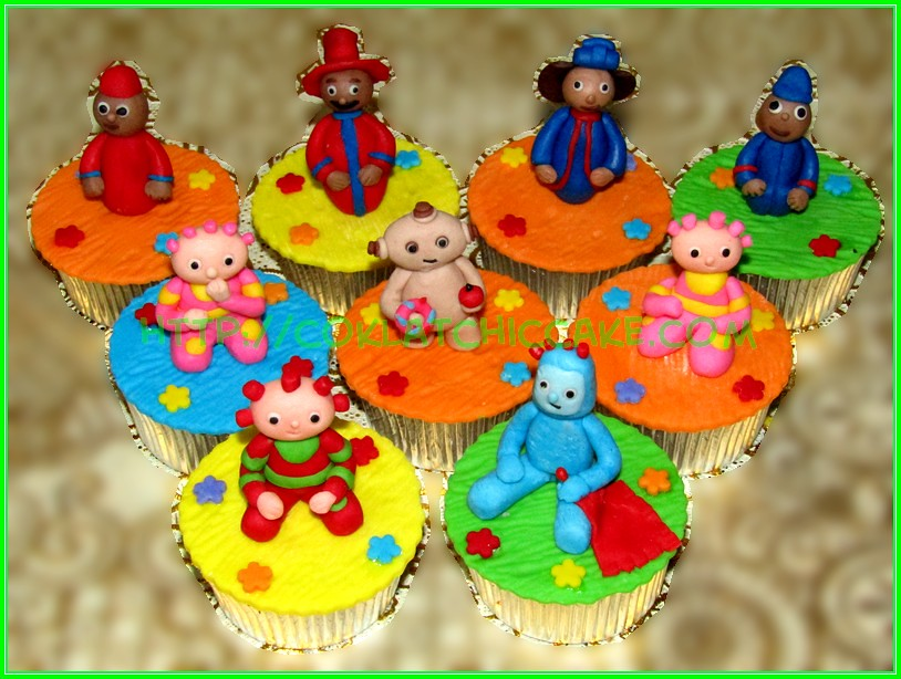 cupcake in the night garden