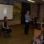 Выступление в школе №38. поэт Александр Меркушев