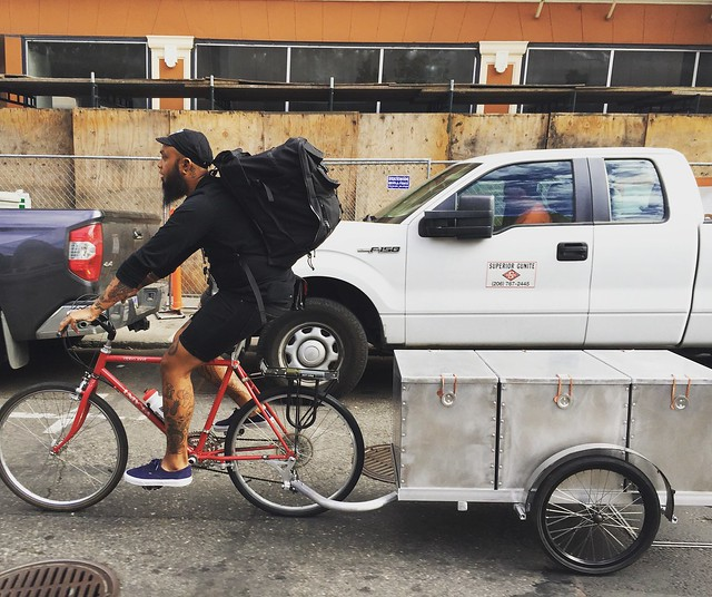 Bicycle delivery for GO Box