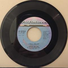 CHUCK JACKSON:I FELL ASLEEP(RECORD SIDE-A)