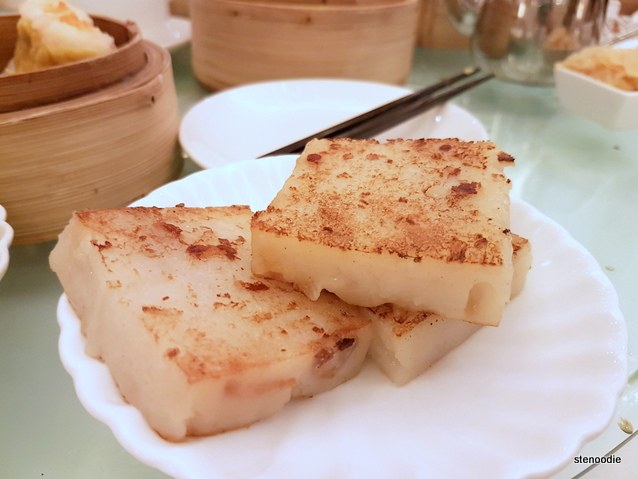 Fried turnip cakes